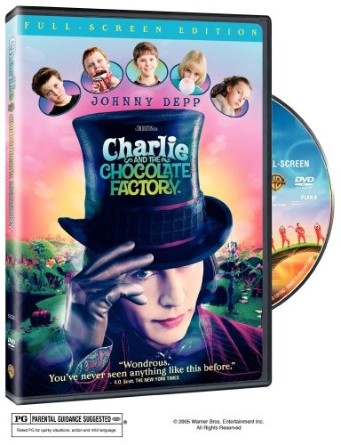 Charlie And The Chocolate Factory (Pan & Scan) DVD Image