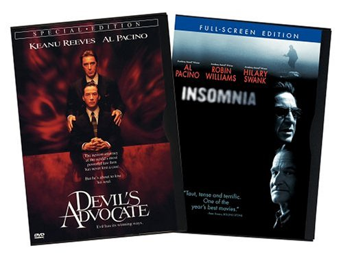 Devil's Advocate (Special Edition/ Snapper Case) / Insomnia (2002/ Special Edition/ Widescreen) (Back-To-Back) DVD Image