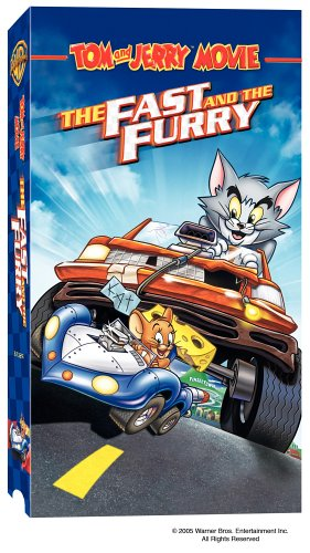 Tom & Jerry: Fast & The Furry [VHS] DVD Image