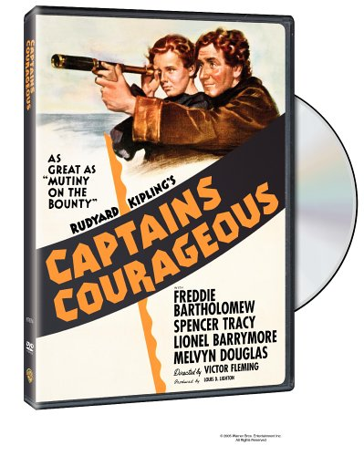 Captains Courageous (1937) DVD Image