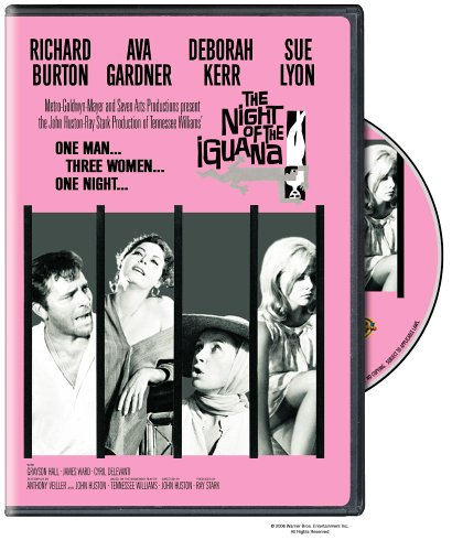 Night Of The Iquana DVD Image