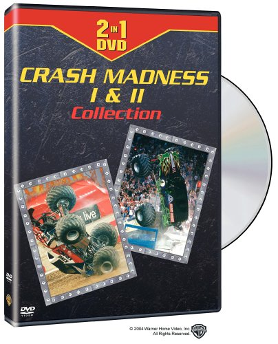 Clear Channel Motorsports - Crash Madness 1 & 2 Collection DVD Image
