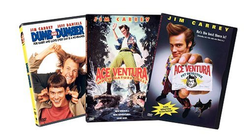 Jim Carrey (3-Pack): Dumb And Dumber / Ace Venutra: When Nature Calls/ Ace Ventura: Pet Detective (Back-To-Back) DVD Image