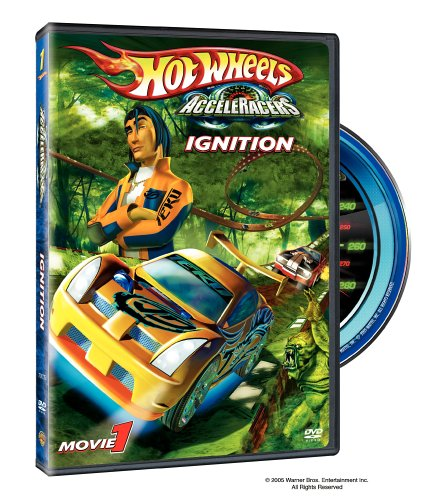 Hot Wheels - Acceleracers - Ignition DVD Image