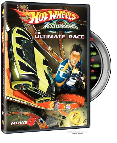 Hot Wheels AcceleRacers: Movie 4: The Ultimate Race DVD Image
