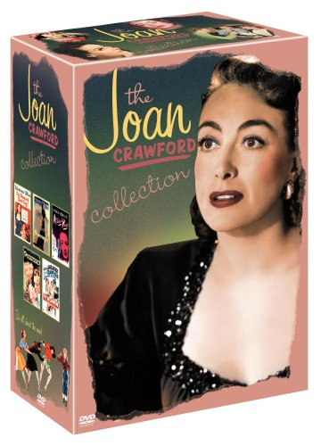 Joan Crawford Collection: The Damned Don't Cry / Humoresque / Possessed / Mildred Pierce / The Women DVD Image