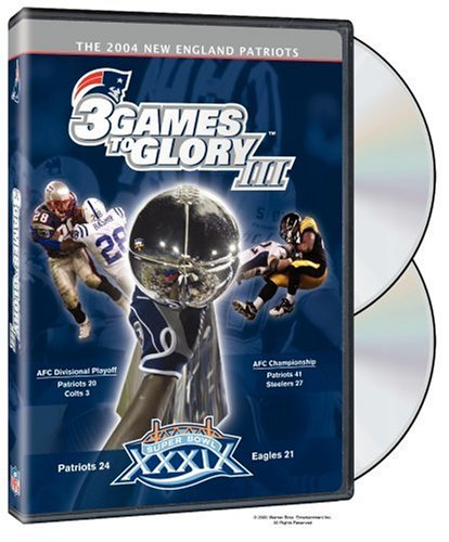 NFL Films: New England Patriots: 3 Games To Glory III DVD Image