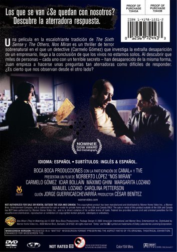 Nos Miran (They're Watching) DVD Image