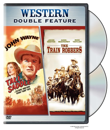 Train Robbers (Old Version) / Tall In The Saddle (2-Pack) DVD Image