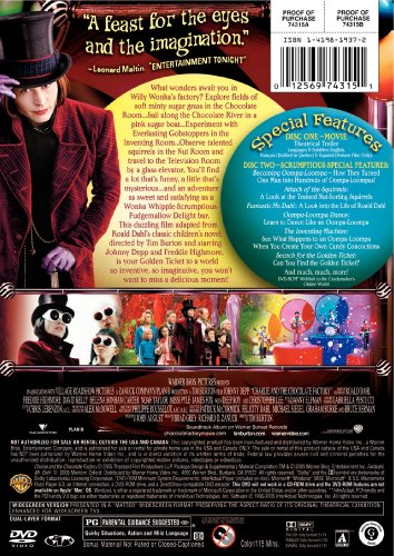 Charlie and the Chocolate Factory (Two-Disc Deluxe Edition) DVD Image