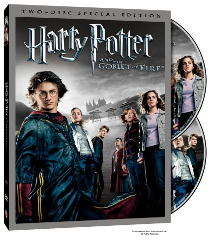 Harry Potter And The Goblet Of Fire (Widescreen/ Limited Edition) DVD Image