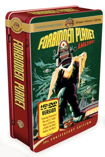 Forbidden Planet (Warners Brothers/ Ultimate Collector's Edition/ HD-DVD) DVD Image