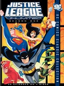 Justice League Unlimited: The Complete 1st Season DVD Image
