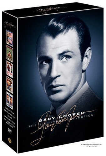 Gary Cooper: The Signature Collection: Sergeant York / The Fountainhead / Dallas / Springfield Rifle / Wreck Of The Mary Deare DVD Image