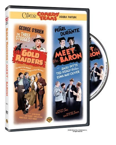 Three Stooges: Meet The Baron / The Gold Raiders DVD Image