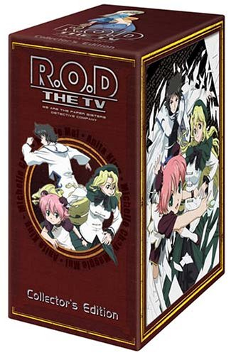 R.O.D.: The TV #1 - 7: Complete (Box Set) DVD Image