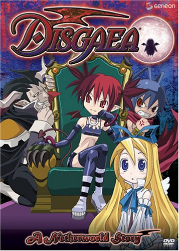 Disgaea #2: The Netherworld Story DVD Image