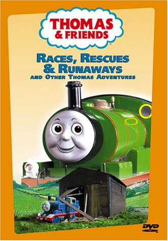 Thomas (The Tank Engine) & Friends: Races, Rescues And Runaways And Other Thomas Adventures DVD Image