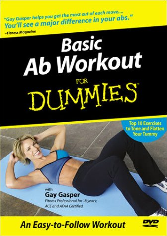 Basic Ab Workout For Dummies DVD Image