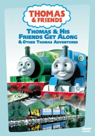 Thomas (The Tank Engine) & Friends: Thomas And His Friends Get Along DVD Image