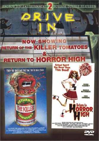 Return Of The Killer Tomatoes / Return To Horror High (Drive-In Double Feature) DVD Image