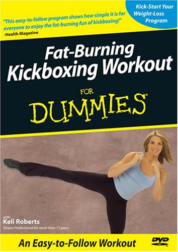 Fat-Burning Kickboxing Workout For Dummies DVD Image