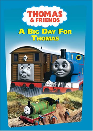 Thomas (The Tank Engine) & Friends: Big Day For Thomas DVD Image