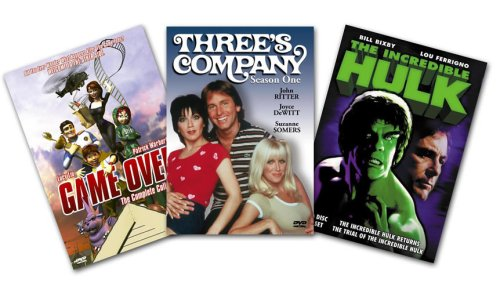 TV 3-Pack: Three's Company: Season 1 / The Incredible Hulk Returns / Game Over: The Complete Series DVD Image