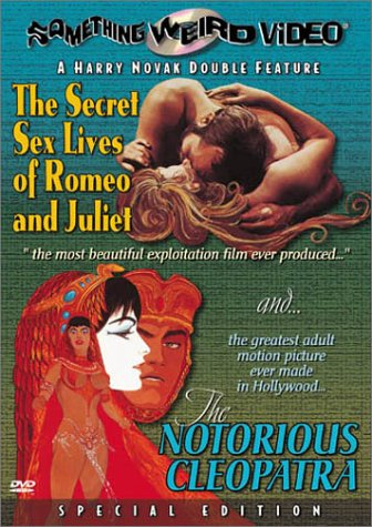 Secret Sex Lives Of Romeo And Juliet / Notorious Cleopatra (Special Edition) DVD Image