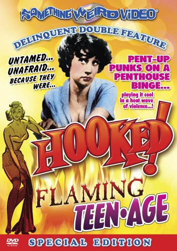 Delinquent Double Feature (Special Edition): Hooked! / The Flaming Teenage DVD Image