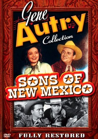 Gene Autry: Sons Of New Mexico DVD Image