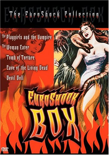 Euroshock Box Set: The Vampire And The Playgirls / The Woman Eater / Tomb Of Torture / Cave Of The Living Dead / Devil Doll DVD Image