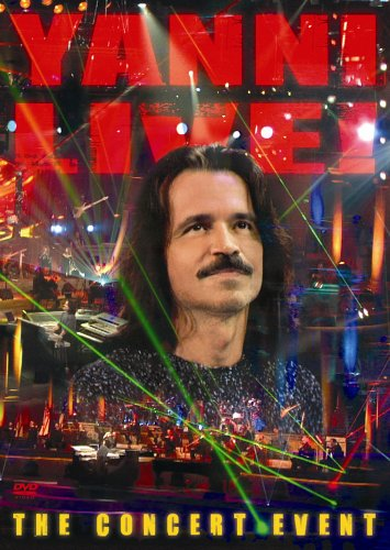 Yanni: Live! The Concert Event DVD Image