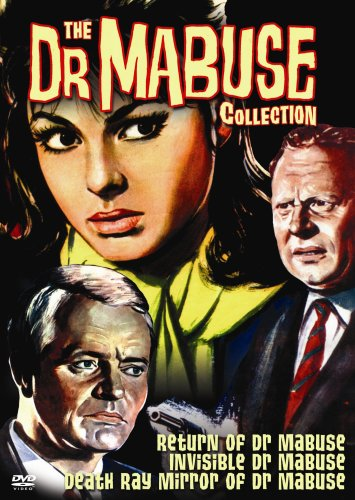 Dr. Mabuse Collection: The Return Of Dr. Mabuse / The Invisible Dr. Mabuse / The Death Ray Mirror Of Dr. Mabuse DVD Image