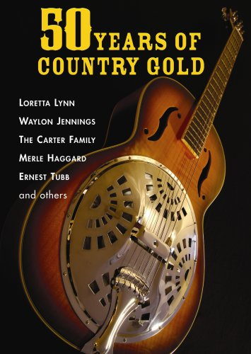 50 Years Of Country Gold DVD Image