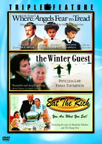 Where Angels Fear to Tread / The Winter Guest / Eat the Rich (Triple Feature) DVD Image