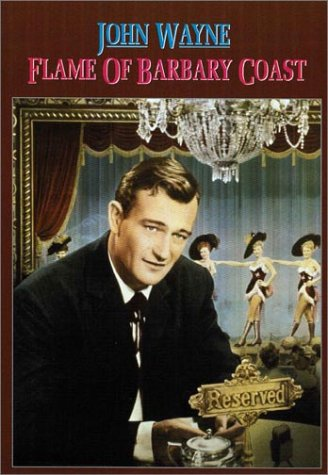 Flame Of Barbary Coast DVD Image
