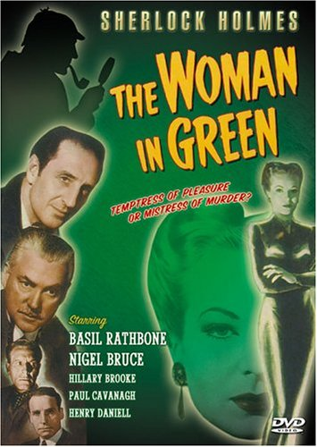 Sherlock Holmes: The Woman In Green (Delta Entertainment) DVD Image
