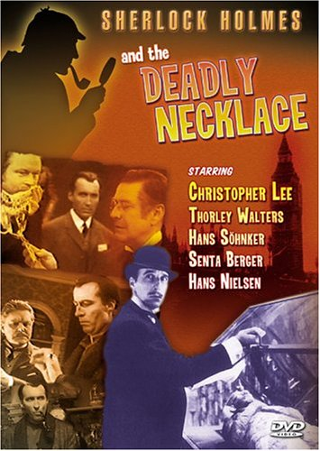 Sherlock Holmes And The Deadly Necklace (Delta Entertainment) DVD Image