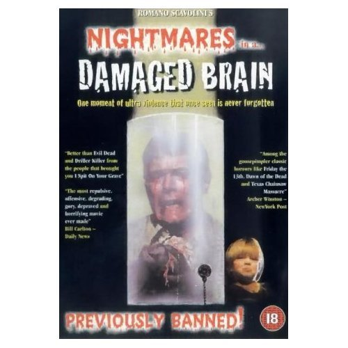 Nightmares In A Damaged Brain DVD Image