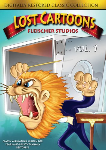Lost Cartoons, Vol. 1: Fleischer Studios: A Car-Tune Portrait / An Elephant Never Forgets / Chicken A La King / ... DVD Image