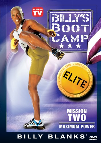 Billy's Bootcamp: Elite Mission 2: Maximum Power DVD Image