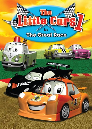 Little Cars I: In The Great Race DVD Image