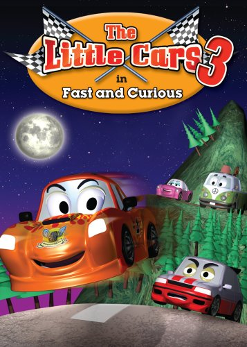 Little Cars III: Fast And Curious (GoodTimes Media) DVD Image