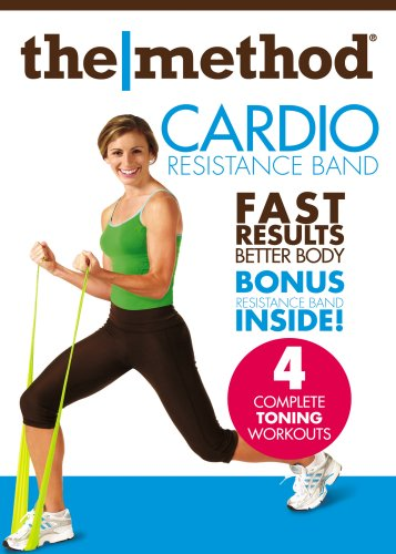 Method: Cardio Resistance Band Workout (w/ Resistance Band) DVD Image