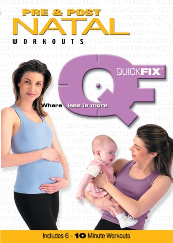 Quick Fix: Pre & Post Natal Workouts DVD Image