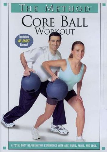 Method: Core Ball Workout (Gaiam) DVD Image