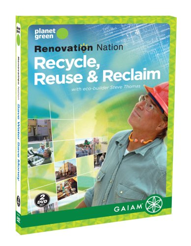 Renovation Nation: Recycle, Reuse And Reclaim DVD Image