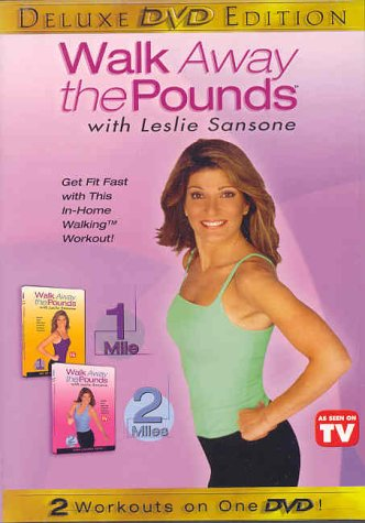 Leslie Sansone: Walk Away The Pounds #1 & 2: Get Up And Get Started / High Calorie Burn DVD Image