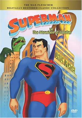 Superman Vs. The Monsters & Villains: Superman / Electric Earthquake / The Magnetic Telescope / The Arctic Giant / ... DVD Image